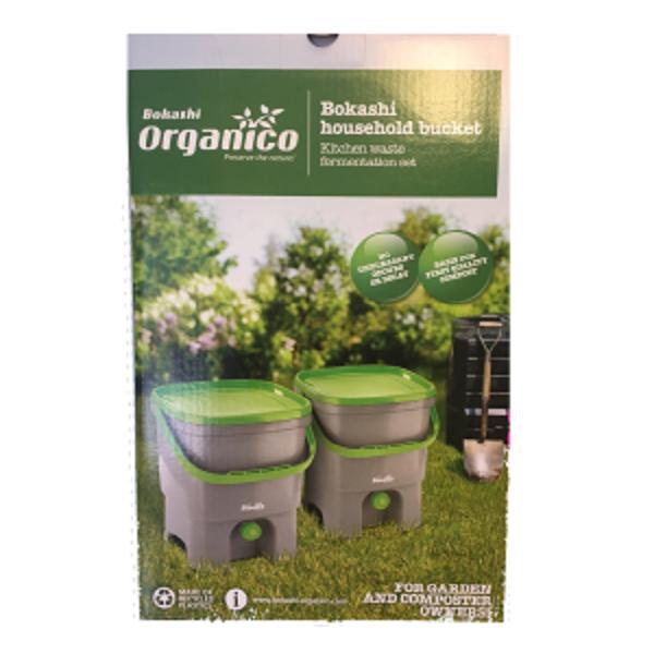 cubo para el compostaje doméstico de la materia orgánica