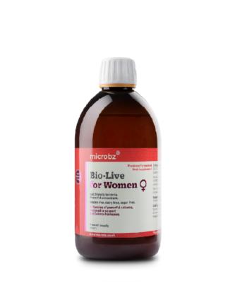 Suplemento probiótico líquido especial para mujeres