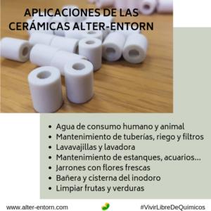 Aplicaciones de las cerámicas alter-entorn