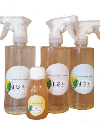 Kit de limpieza probiótica y ecológica