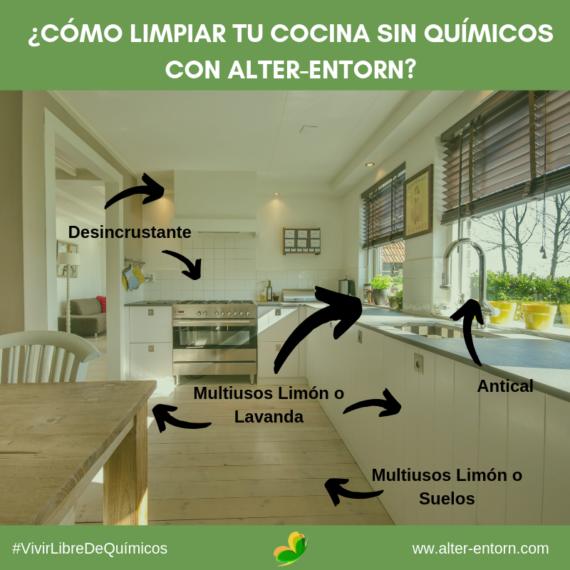 Cómo limpiar la cocina sin ningún tipo de sustancia química nociva